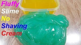 2 Ways Fluffy Slime!! No Shaving Cream, No Glue, No Borax