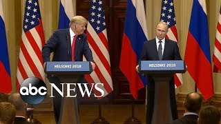 Trump stands his ground after Putin news conference backlash