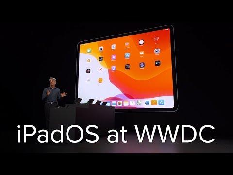 iPadOS announcement in