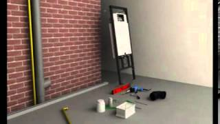 Hänge WC Vorwandelement Montageanleitung - Installationsanleitung