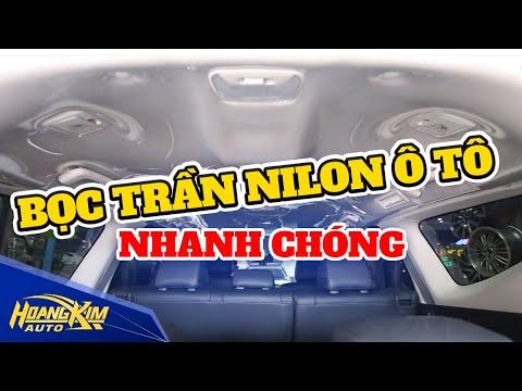 Bọc trần nilon ô tô - Ô Tô Hoàng Kim