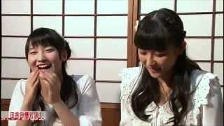 鞘師里保ちゃんと和田彩花ちゃん。ピーベリーのお二人です。 ノリ*´ー´リ<.........ヤシ?