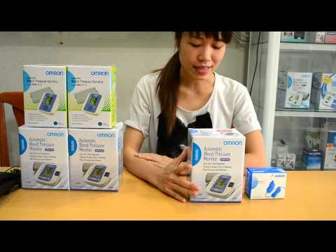 Hướng dẫn sử dụng máy đo huyết áp Omron