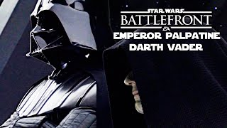 STAR WARS BATTLEFRONT #2 | DARTH VADER & EMPEROR PALPATINE