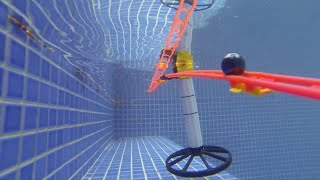 Marble Run in the Swimming Pool