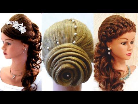 Top 5 Удивительные прически на Выпускной. Top 5 Amazing Hairstyles Tutorial Compilation 2017