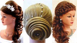 Top 5 Удивительные Прически На Выпускной  Top 5 Amazing Hairstyles Tutorial Compilation 2017
