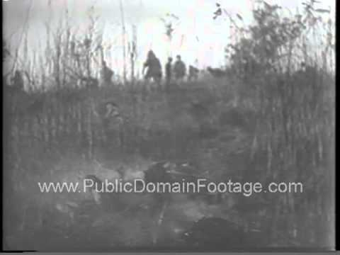 French reinforced as Indo China war escalates newsreel archival stock footage