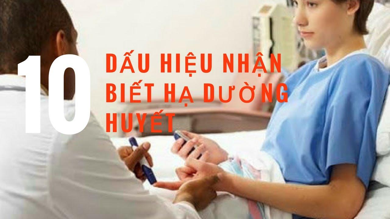 Top 10 dấu hiệu nhận biết ra bệnh hạ đường huyết | TRASONMATHONGSAM.NET