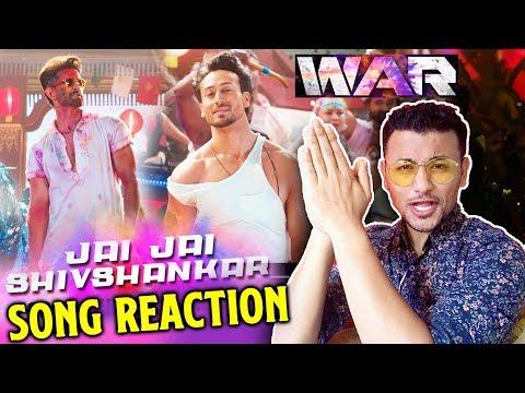 jai-jai-shiv-shankar-song-reaction- -review- -war- -hrithik-roshan,-tiger-shroff