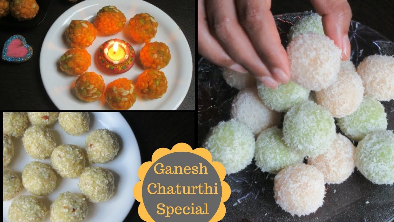Ganesh Chaturthi special recipes | Laddoo Recipes | Indian dessert | Prasad Recipes