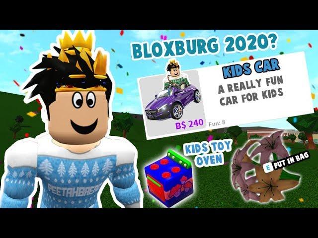 Bloxburg Christmas Update 2020 NEW FUTURE BLOXBURG UPDATES I'D LOVE TO SEE IN 2020! Children cars