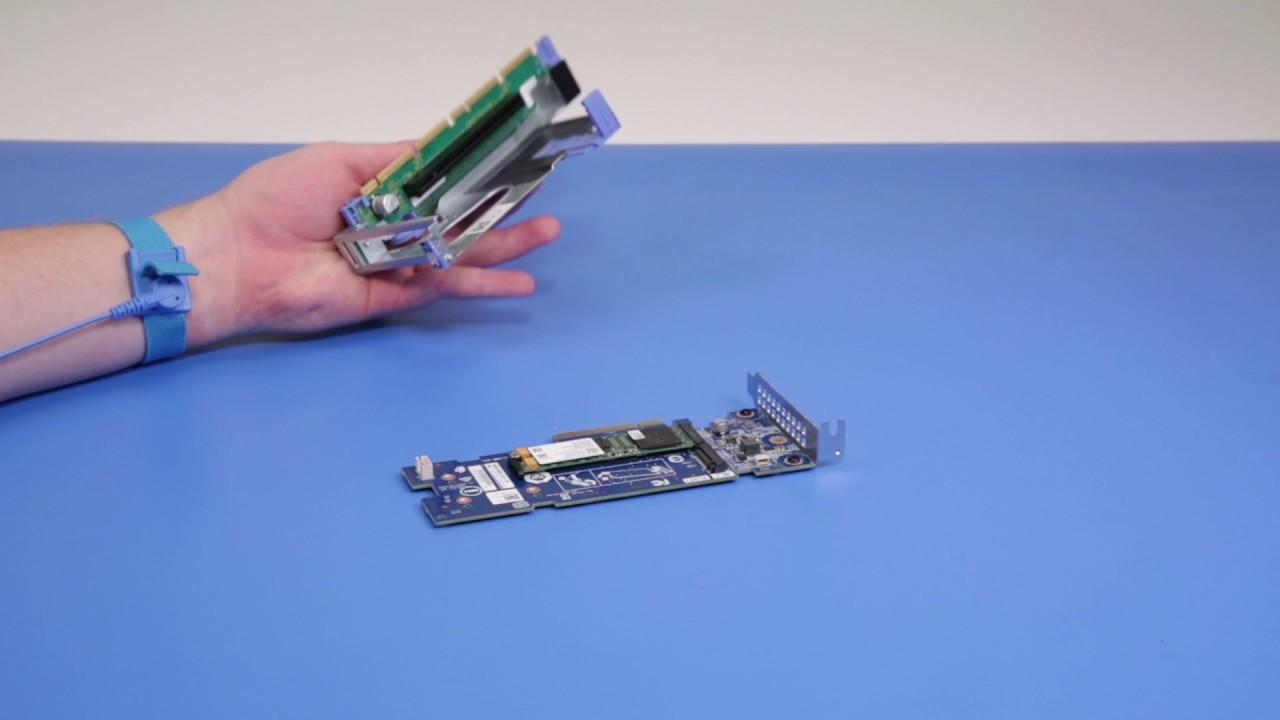 Dell EMC PowerEdge R640: Remove/Install M 2