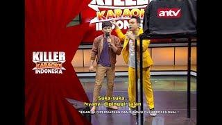 Faisal gagal nyanyi, karena ketakutan! – Killer Karaoke Indonesia