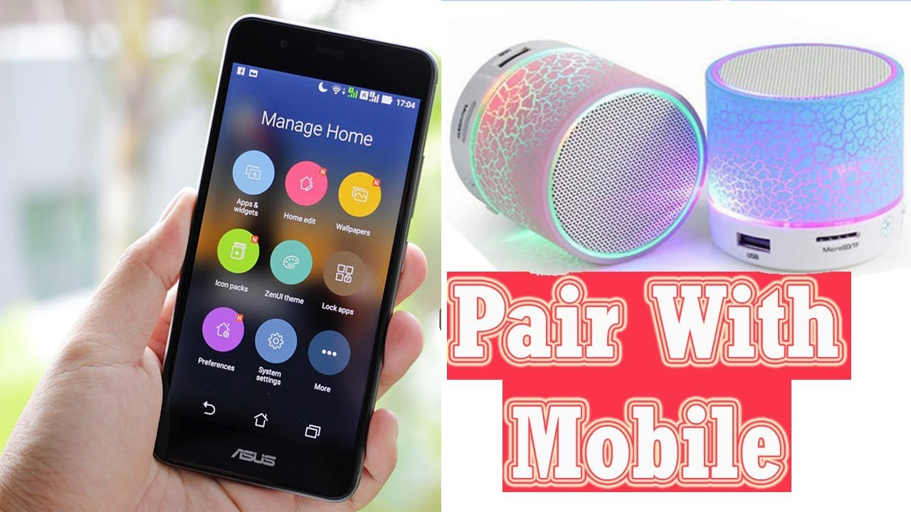 How To Connect Bluetooth Speaker To Mobile Phone Bluetooth Speaker Ko Mobile Se Pair Kaise Kare Youtube