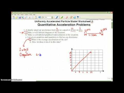 Quantitative Acceleration Problems - YouTube