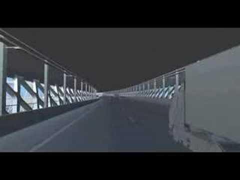 Lange Wapper bridge in Antwerp