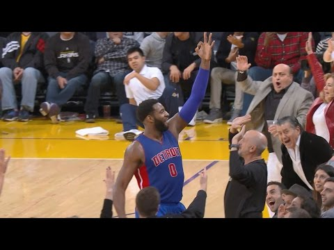 Andre Drummond Hits Buzzer Beater From 3/4 Court | 01.15.17