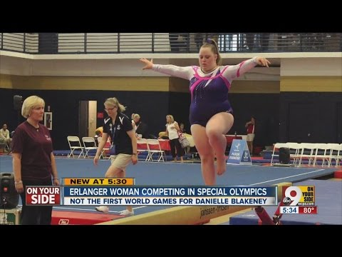 Danielle Blakeney: Erlanger gymnast represents Northern Kentucky at Special Olympics World Games