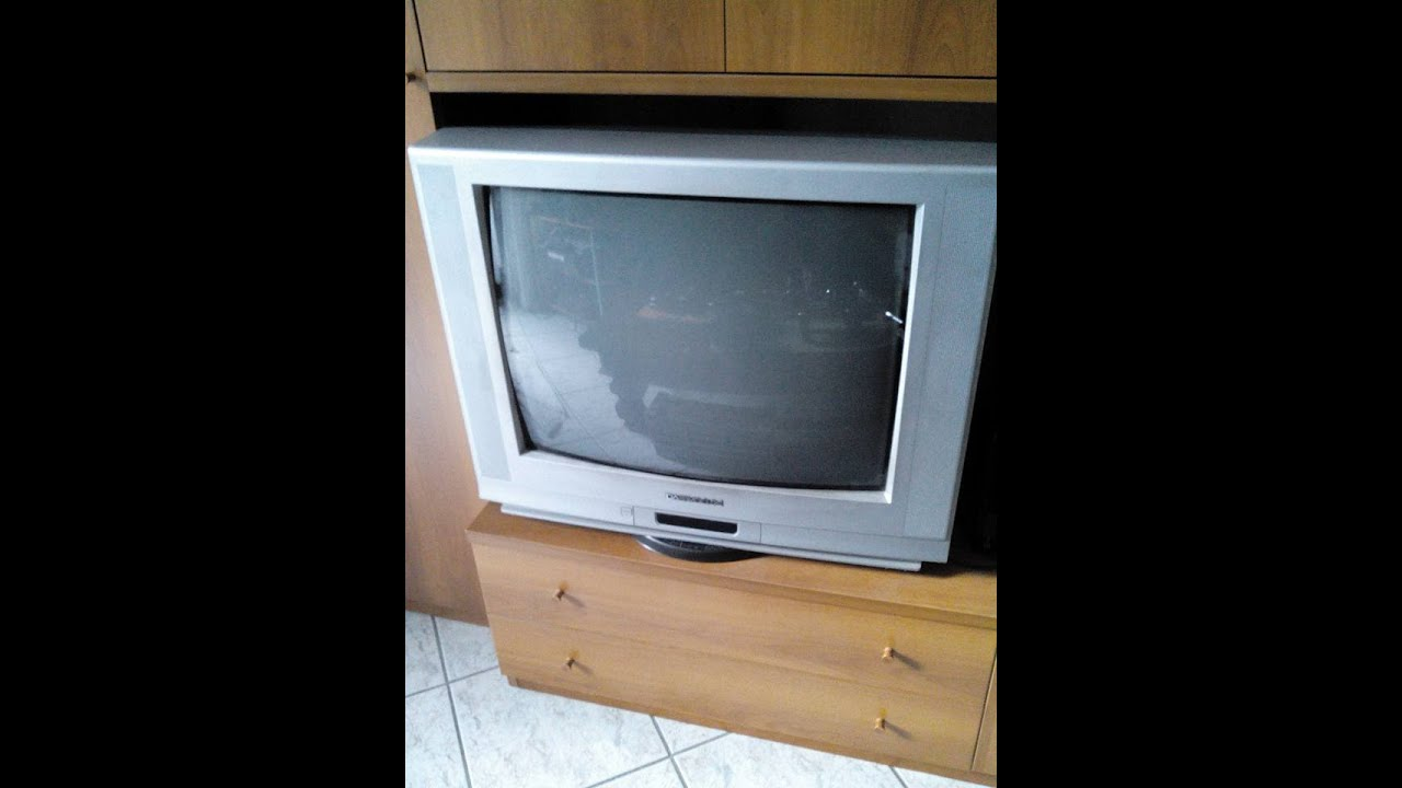 Come Riparare TV Daewoo 29'' - repair TV Daewoo 29'' - YouTube