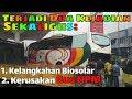 Bus NPM Rusak Mesin  Dan Terjadi Kelangkahan Biosolar Di Sumatera Barat