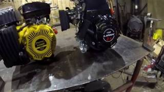 видео Двигатель g201hk champion. Двигатель (6.5 л.с.)Champion G201HK