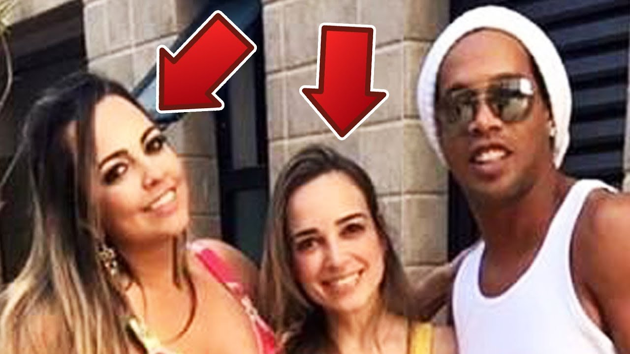 2 girlfriends used to live in the same house, Ronaldinho, who made Brazil the world champion, is now in trouble