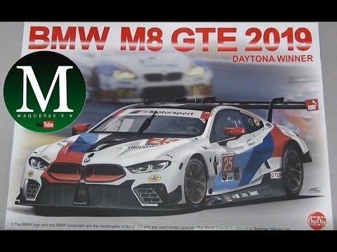 Download BMW M8 GTE 2019 (NuNu 1:24)