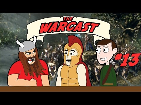 The Warcast #13: WARHAMMER 2, Free For All, Historical Total Wars and More!