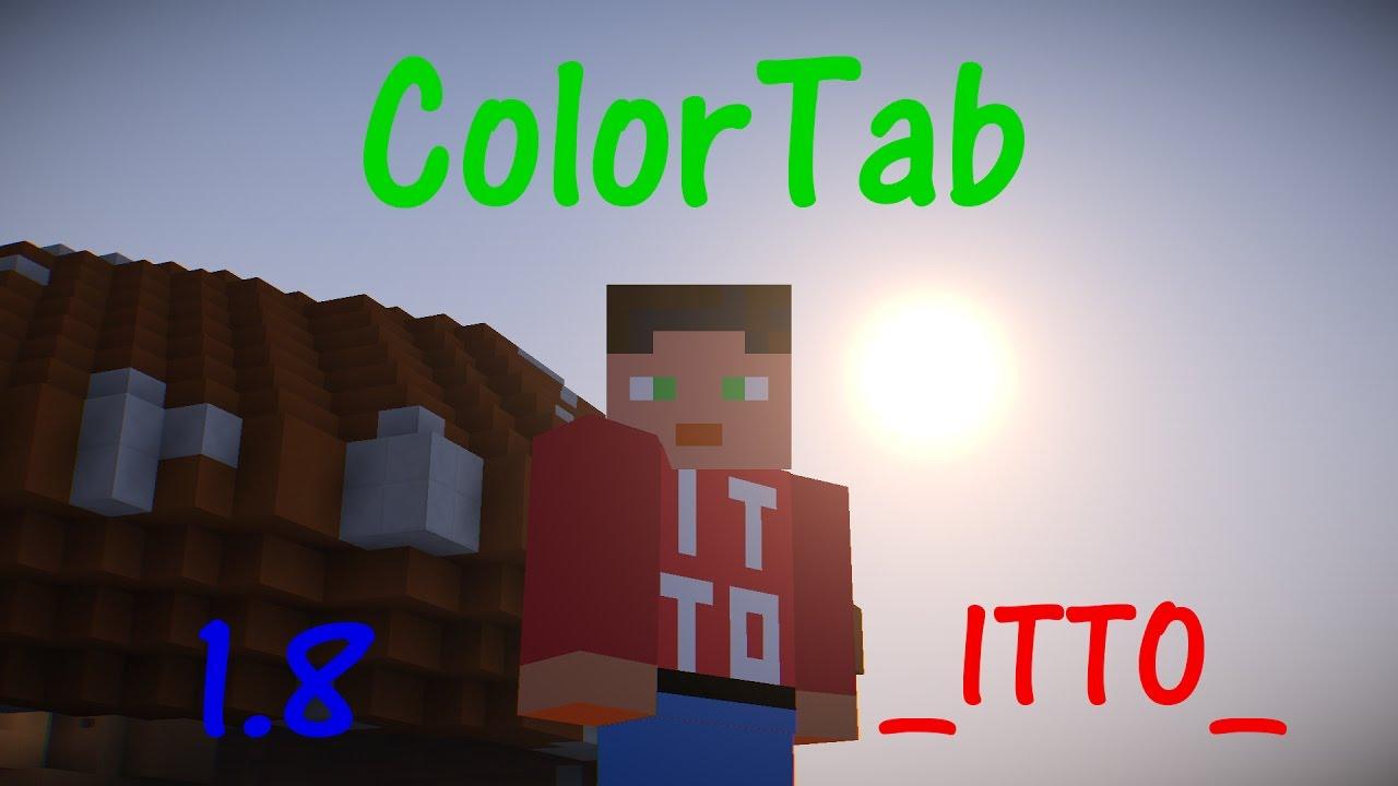 Farbige Namen Im Tab Und über Dem KopfScoreboard Kompatibel - Minecraft farbige namen andern