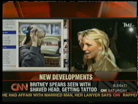 Britney cnn head shaved spear — photo 4