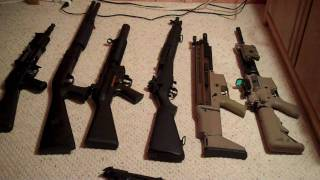 all my airsoft guns