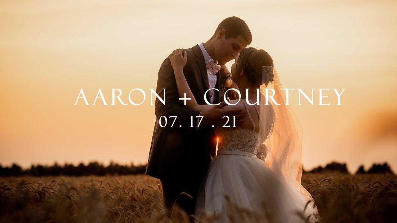 Aaron & Courtney - Romantic Forest Wedding - Fernwood Hills