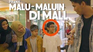 GEN HALILINTAR MALU MALUIN DI MALL - PRANK