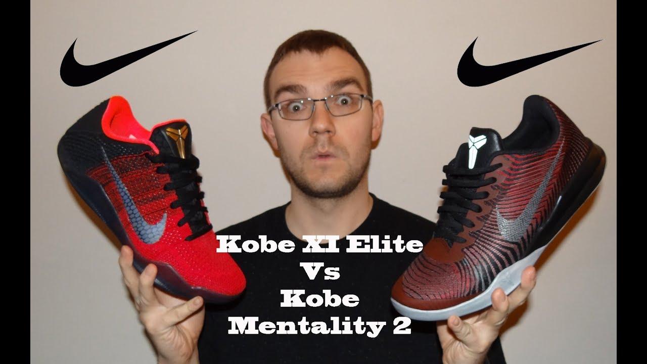 new product c8781 18c14 Kobe XI Elite Low Vs Kobe Mentality 2 Review
