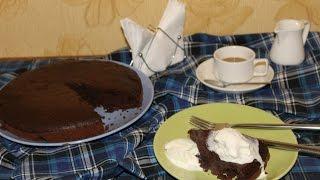 Crazy cake!!! Сумасшедший пирог, рецепт:) Просто тает во рту...