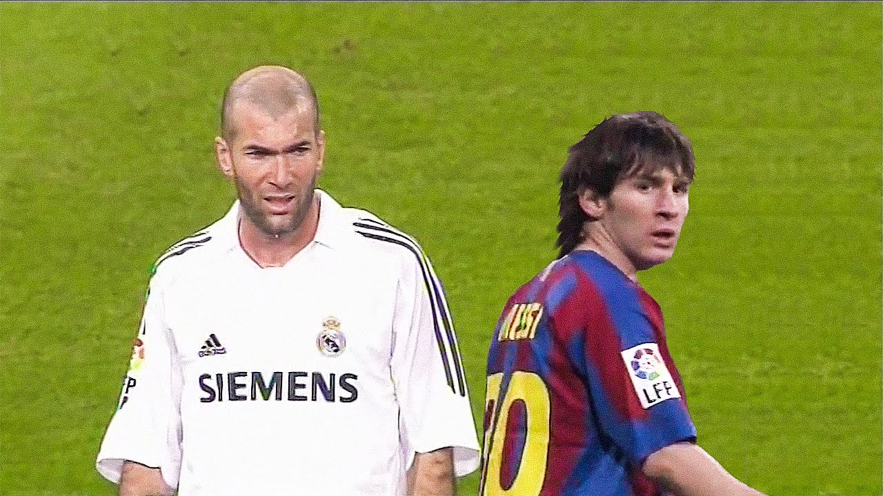 The Day Lionel Messi & Zinedine Zidane met for the First Time