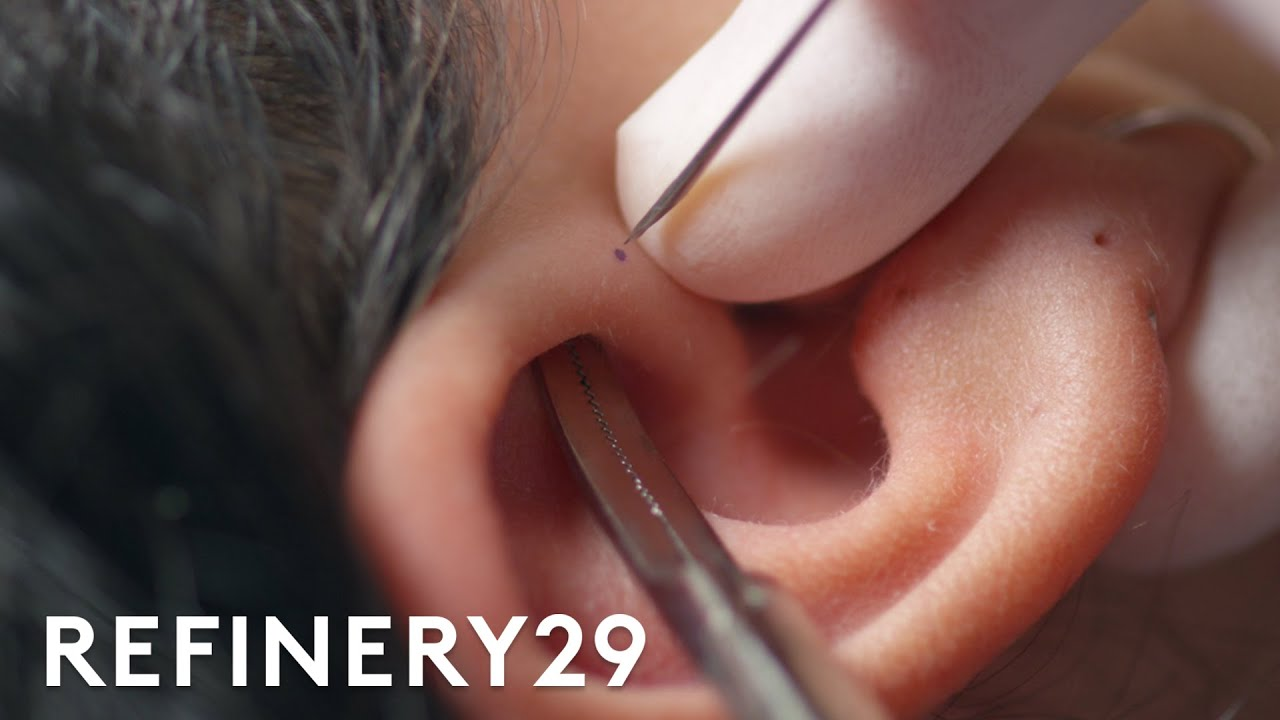 This Cartilage Piercing Has Almost Zero Aftercare | Macro Beauty