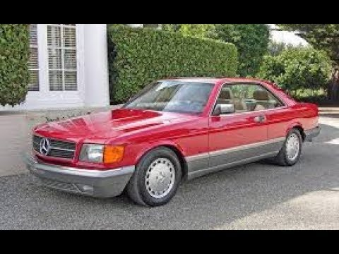 Purchasing a 560 SEC Mercedes Benz and Its Value