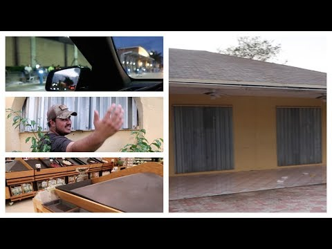 Hurricane Irma South Florida | NO WATER + HURRICANE SHUTTERS