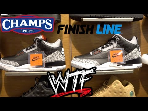 CRAZY SNEAKER MALL VLOG LOOKING FOR THE JORDAN BLACK CEMENT 3  +  ARE THEY SOLD OUT??  FIND OUT!!!