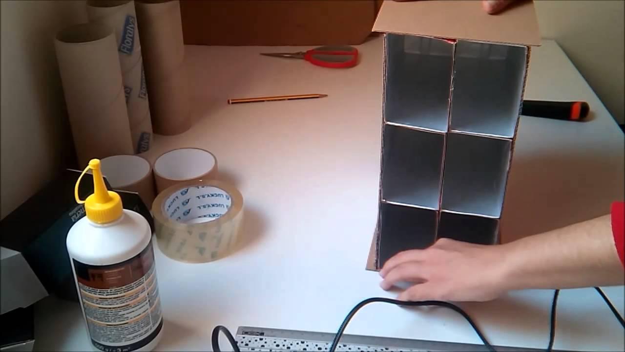 Organizador para escritorio hecho de cart n y tetra briks - Organizador escritorio ...