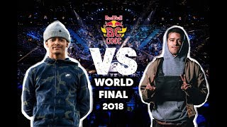 Sunni (UK) vs. Luigi (USA)   Top 16   Red Bull BC One World Final 2018