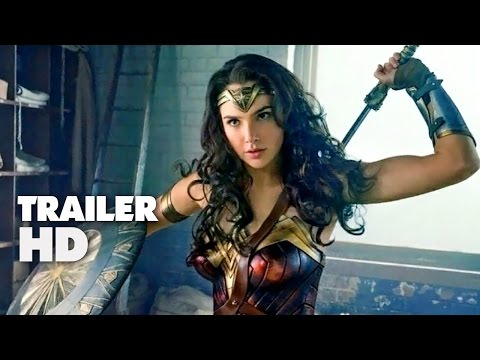Wonder Woman - Official Comic-Con Trailer 2017 - Gal Gadot, Chris Pine Movie HD