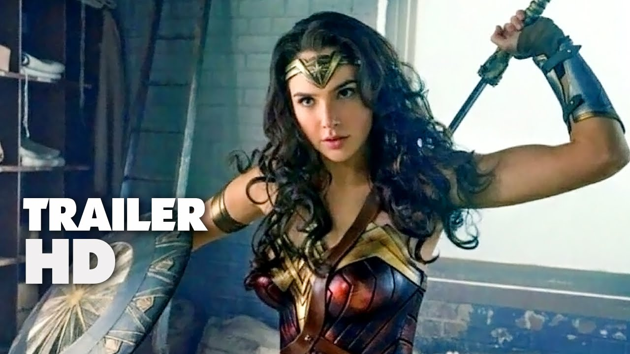 Wonder Woman Official Comic Con Trailer  Gal Gadot Chris Pine Movie Hd Youtube