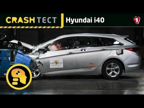 Hyundai i40. Краш тест. УКР