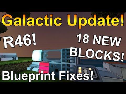 GALACTIC UPDATE! - New Creativerse Update - R36 - NEW STARSHIP BLOCKS!!!