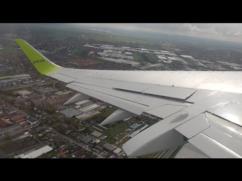 AirBaltic Boeing 737-300 Winglets | Takeoff from Amsterdam Schiphol!