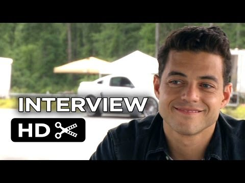Need For Speed Interview - Rami Malek (2014) - Aaron Paul Racing Movie HD