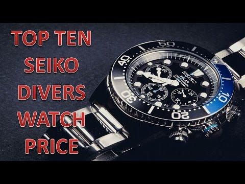 Top ten seiko divers watch price youtube - Best seiko dive watch ...